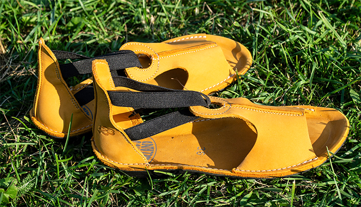 Loints of Holland 39407 Turbo Yellow Nubuck Sandals