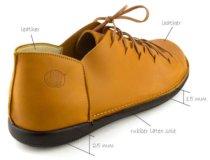 Loints of Holland Natural Man Leather Lace-Up Casual Shoes