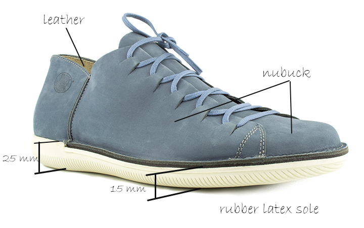 Natural Man 41795 Loints of Holland Lace-Up