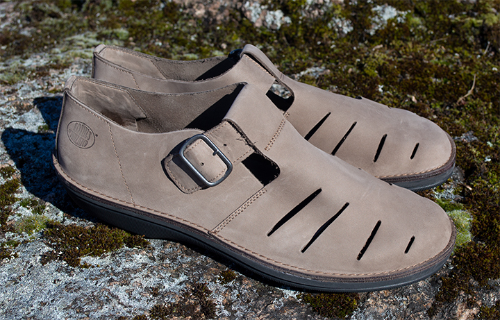 Loints of Holland Men's Turbo Taupe Summer Shoes