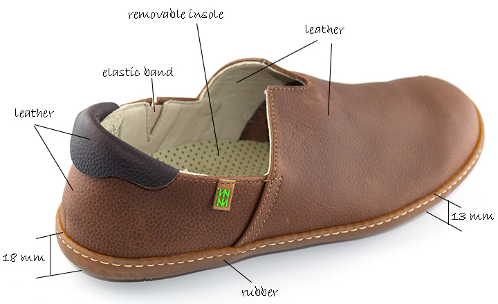 El Naturalista  El Viajero Wood-Brown Slipper
