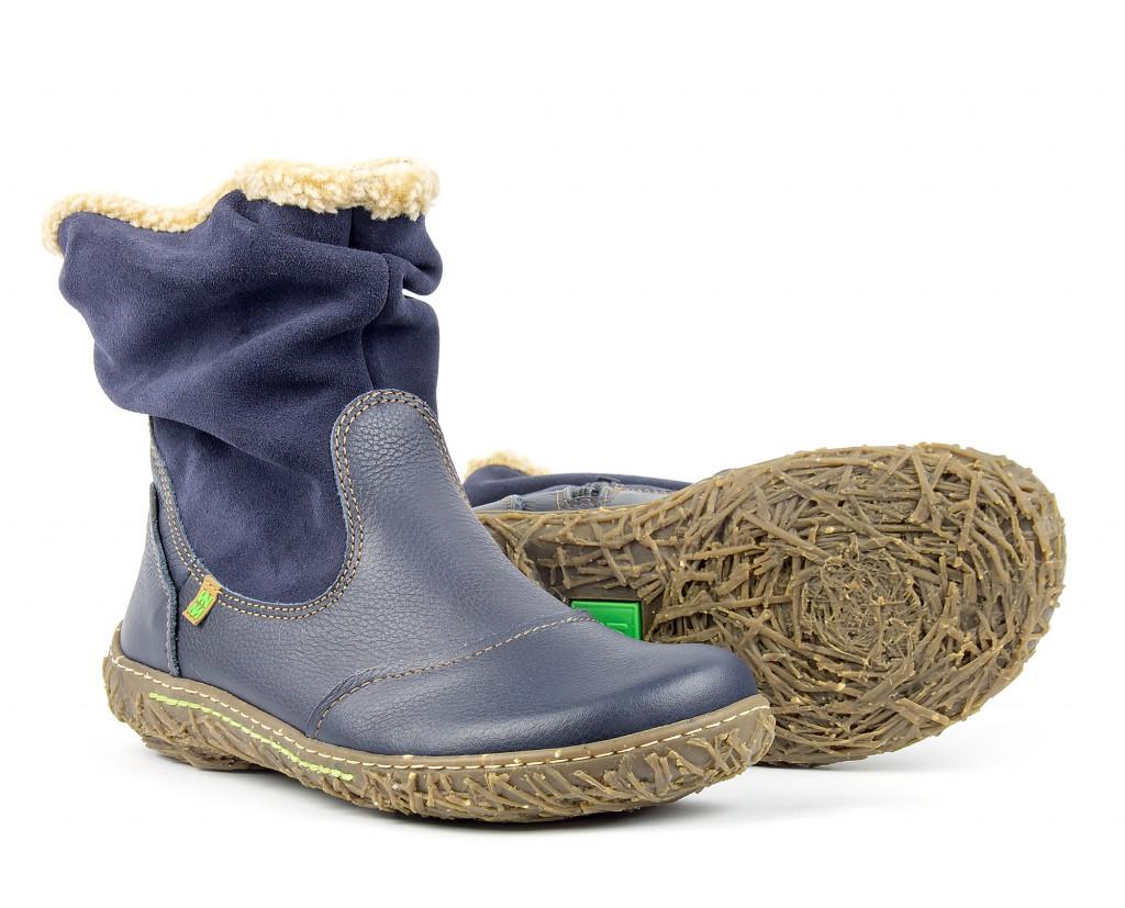 N758 El Naturalista Nido ocean - Warm women's ankle boots