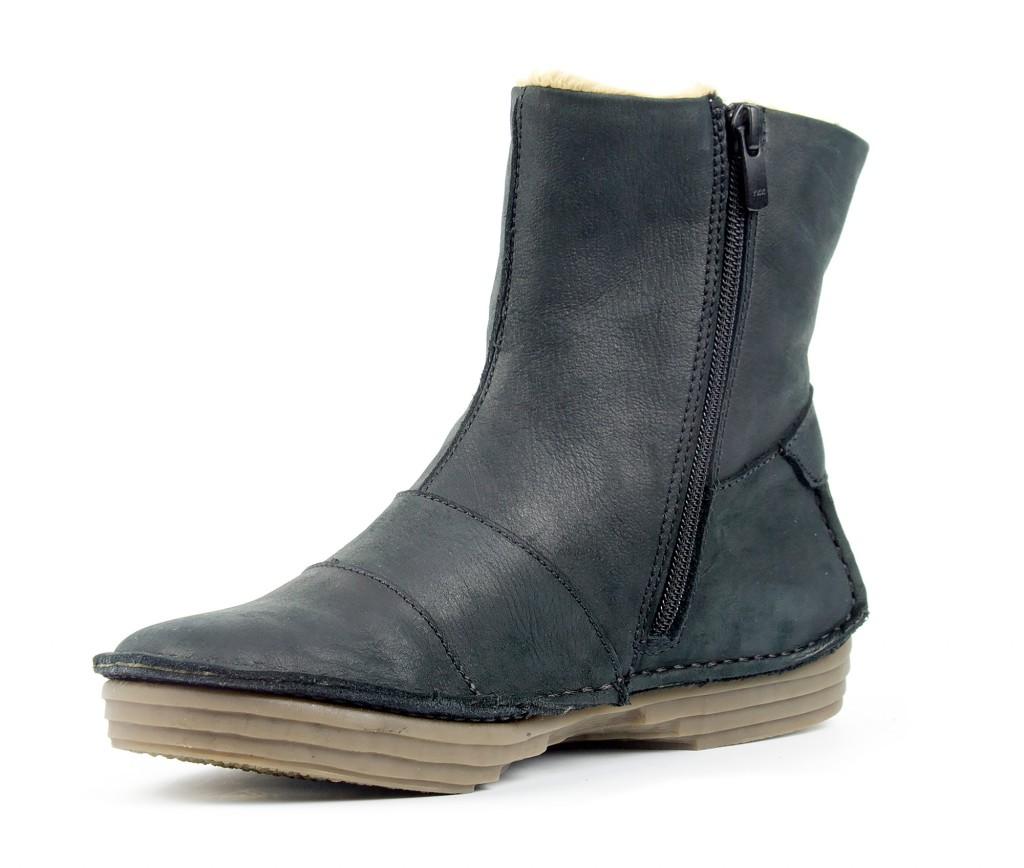 5043 El Naturalista RICE FIELD black - Women's ankle boots