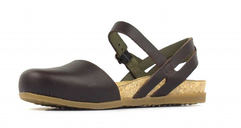NF41 El Naturalista Zumaia brown - women's sandals