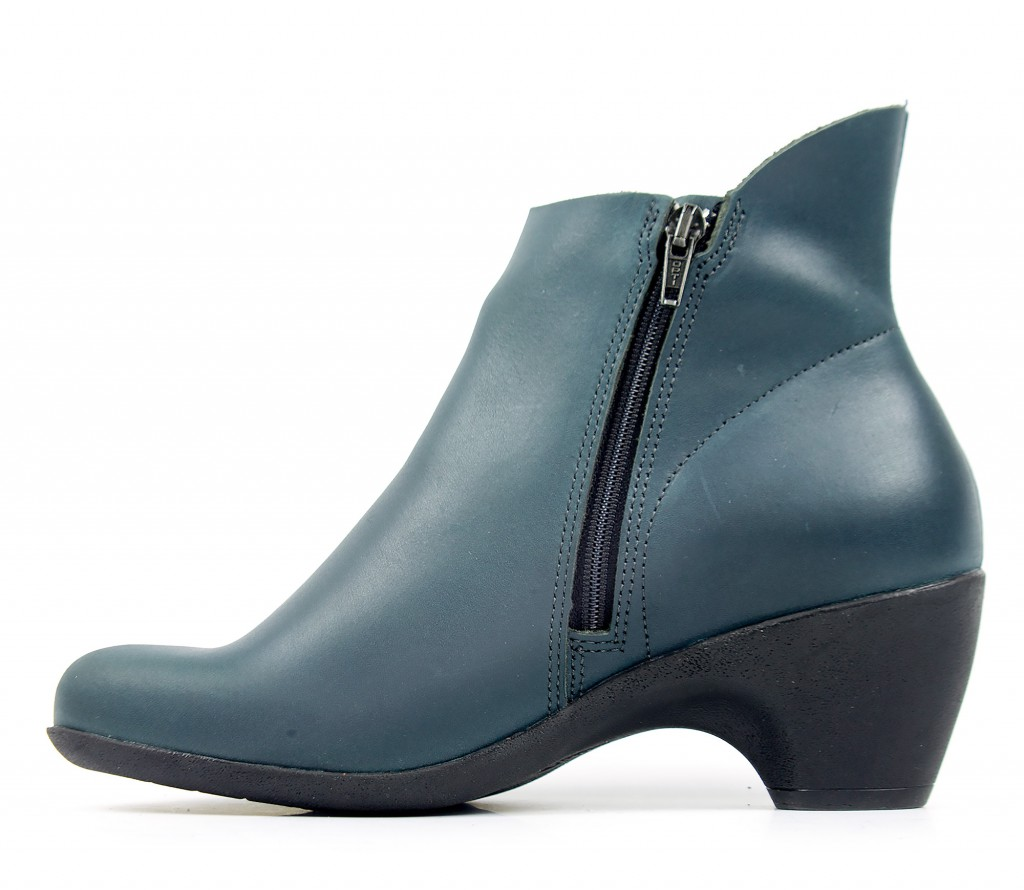 70713 Loints of Holland Jive petrol - Women's ankle boots