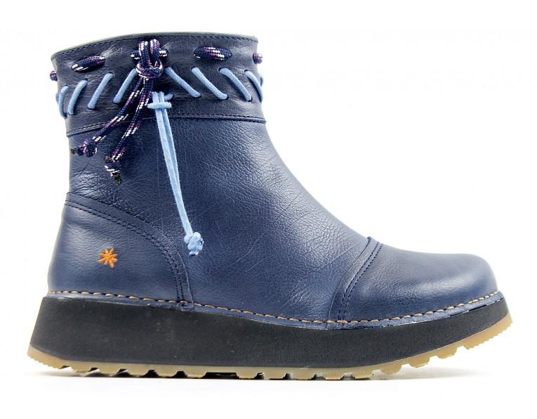 1027 ART Heathrow blue - Women's ankle boots