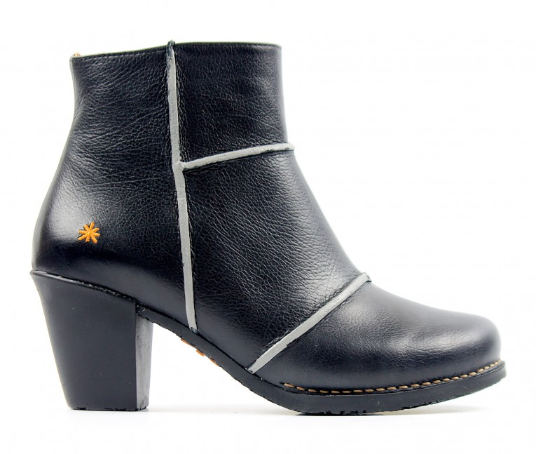 0478 ART Geova black - Women's ankle boots