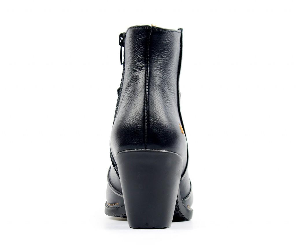 0478 ART Geova black - Women's ankle boots