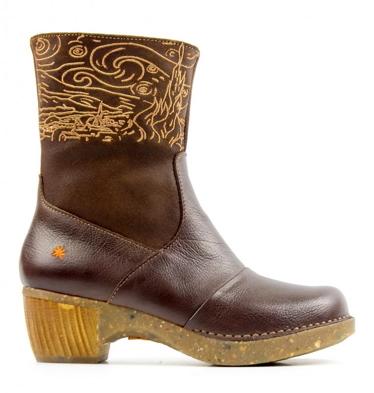1016 ART Zundert brown - Women's ankle boots