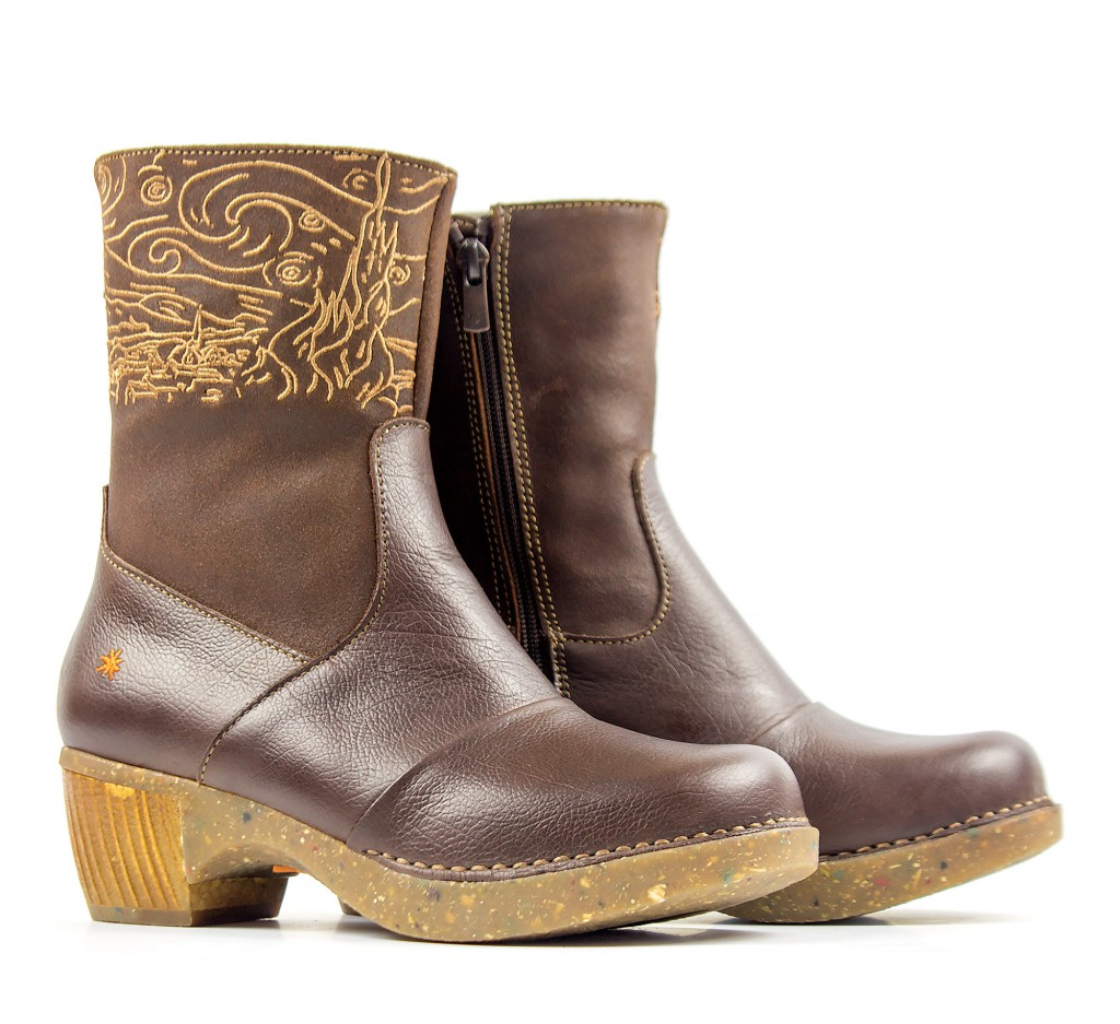 1016 ART Zundert brown - Women's ankle boots