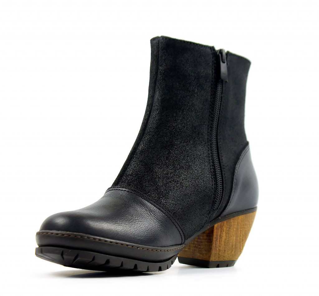 1231 ART Oslo black - Women's ankle boots