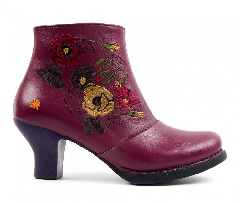 1063 ART Harlem cerise - Women's ankle boots