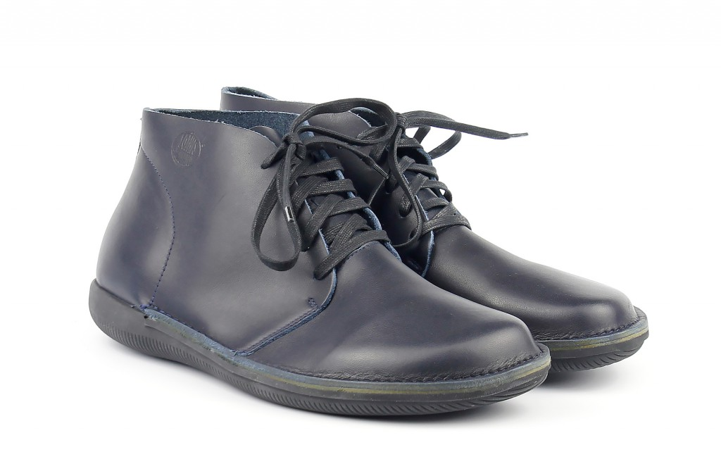 41400 Loints of Holland Natural man dark blue - Men's ankle boots