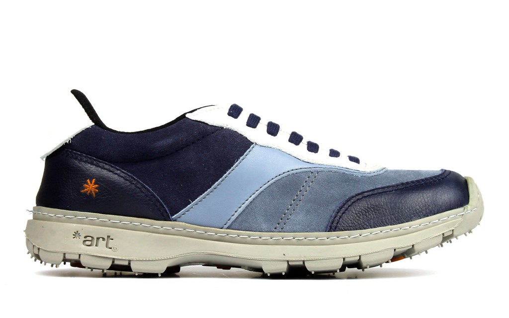Sneakers 1041 ART Link multicolor blue, profile view