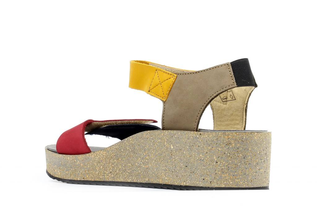 71781 Loints of Holland Samba blue/red/taupe/yellow