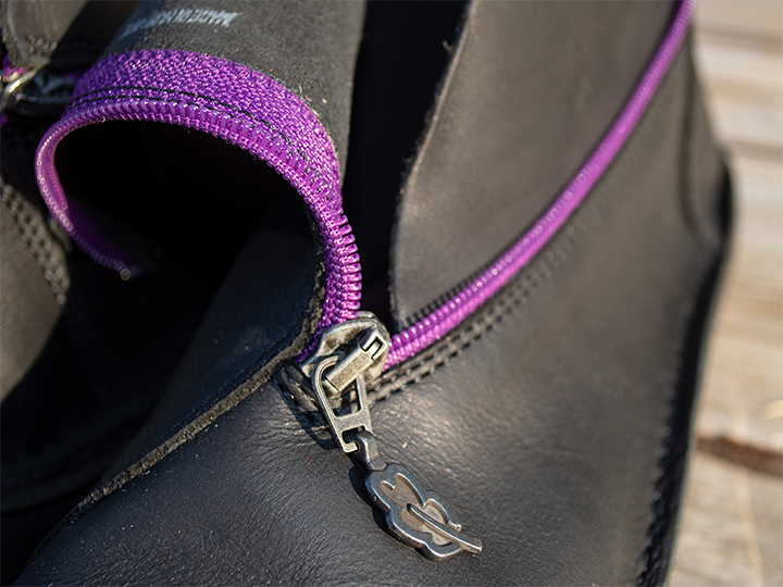 Clasp Purple Zipper