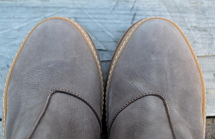 Almond toe.