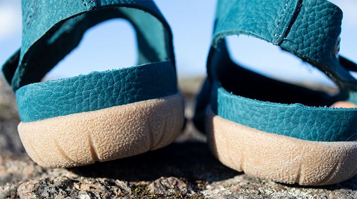 Open heeled Sandals.